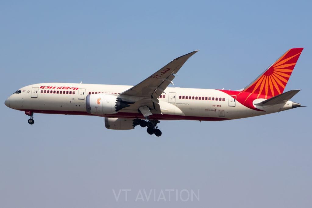 VT-ANA, Boeing 787-8