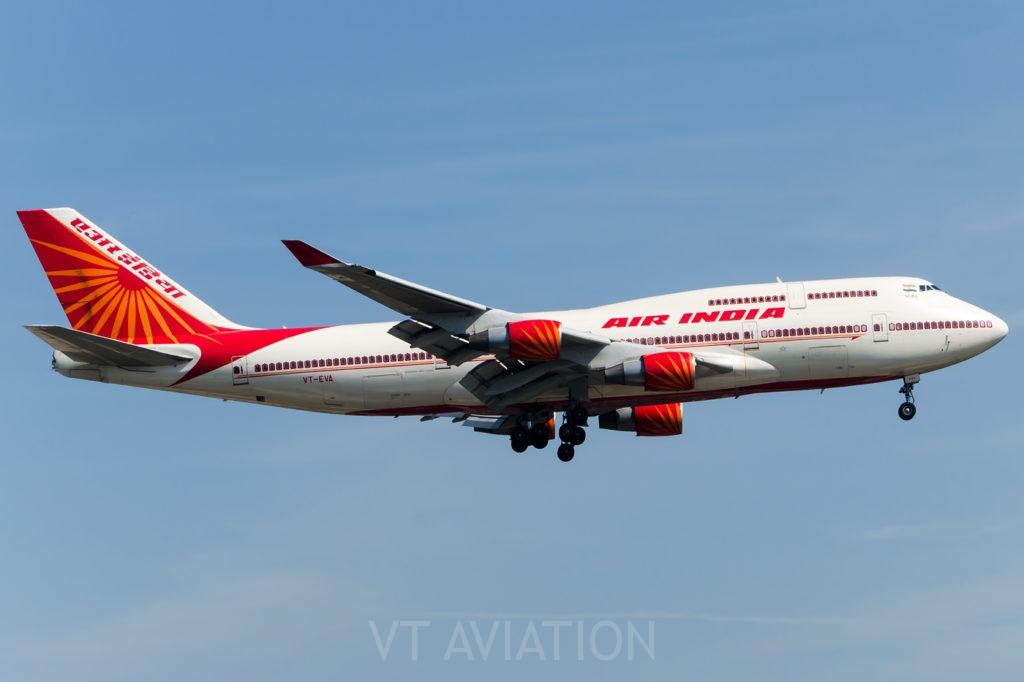 VT-EVA, Boeing 747-400
