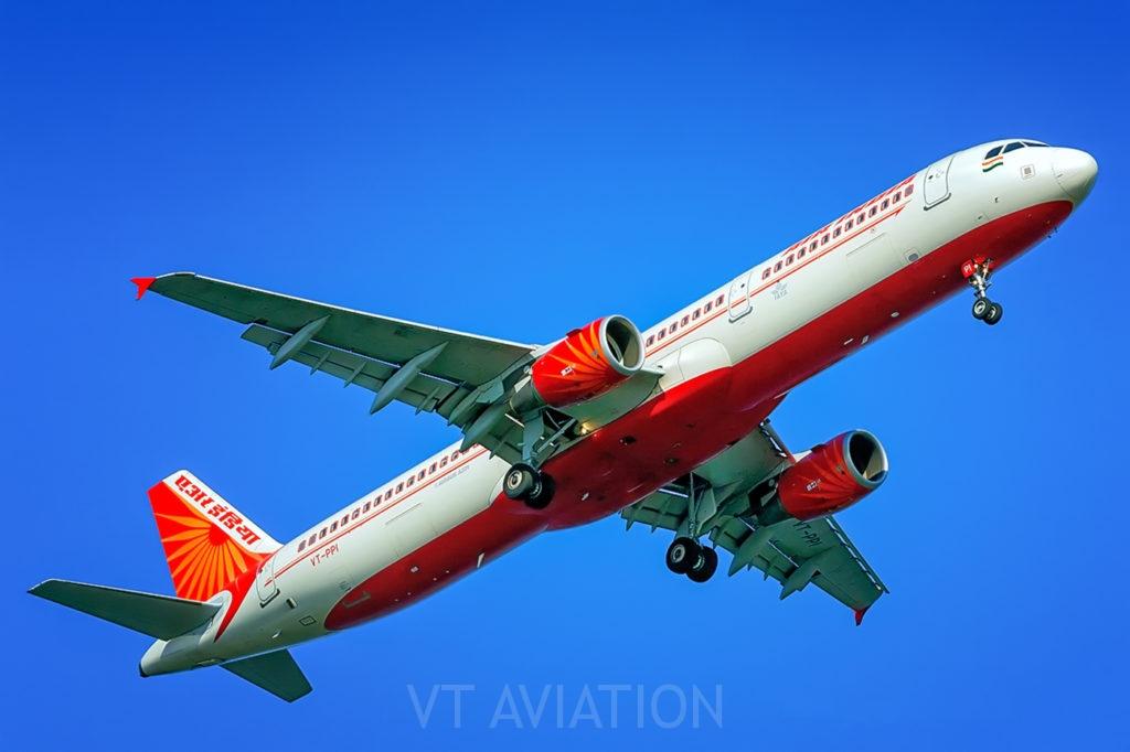 VT-PPI, Airbus A321