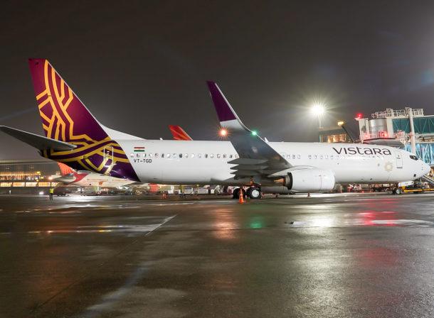 VT-TGD, Boeing 737-800