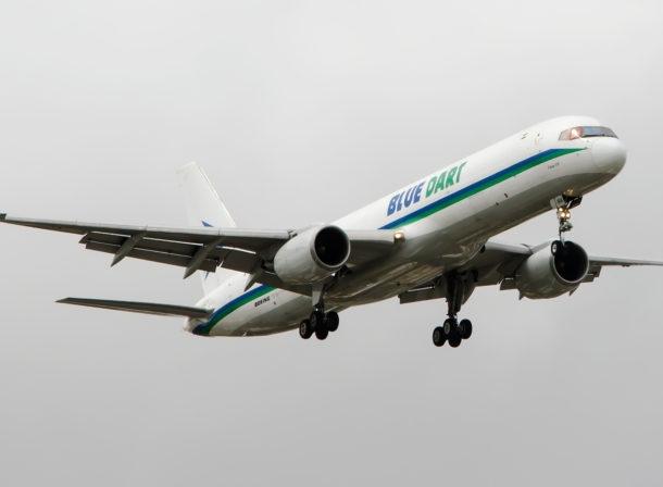 VT-BDK, Boeing 757F