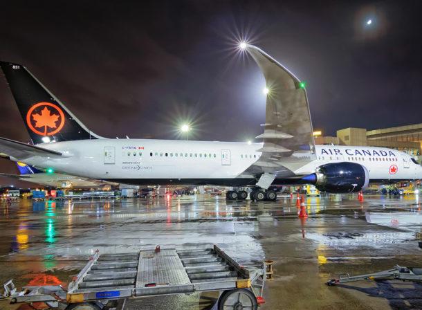C-FRTW, Boeing 787-9