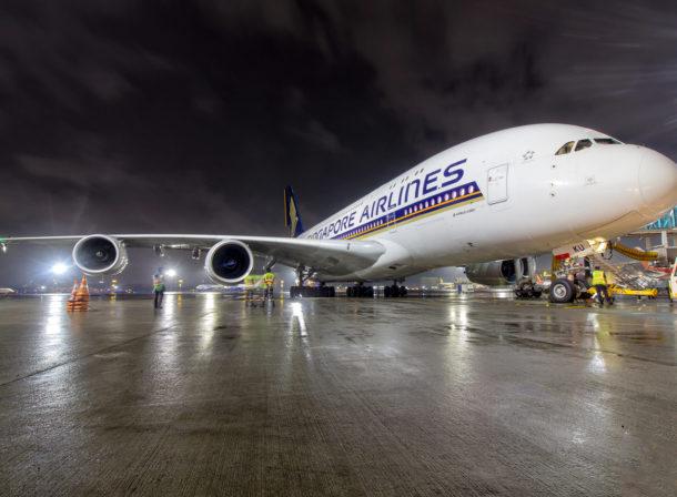 9V-SKU, Airbus A380
