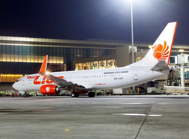 HS-LUV, Boeing 737-800