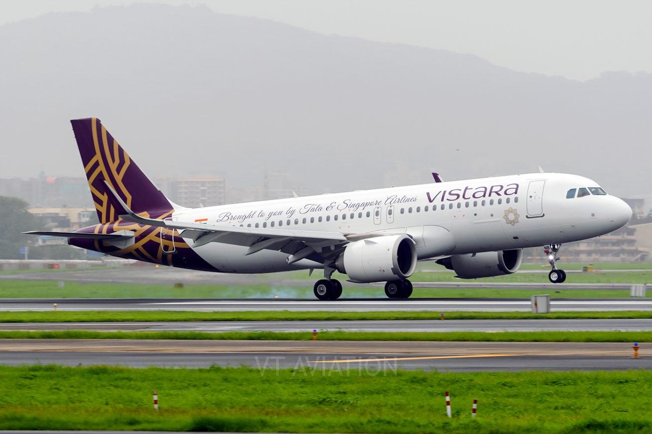 Vistara VT-TNB, Airbus A320neo
