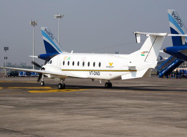 VT-DND, Beechcraft B1900D