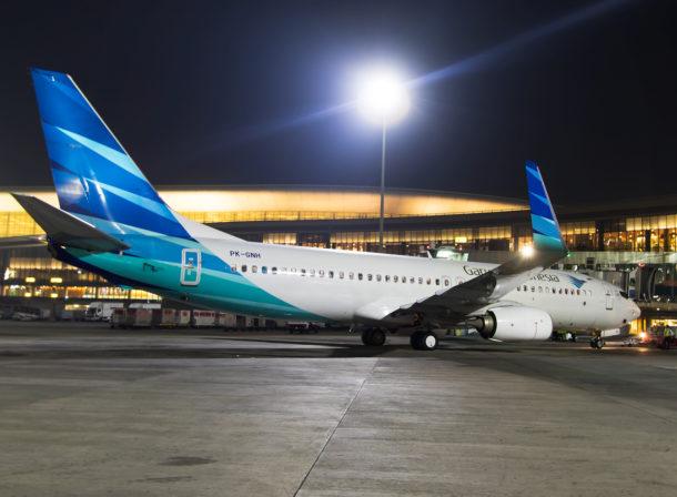 PK-GNH, Boeing 737-800