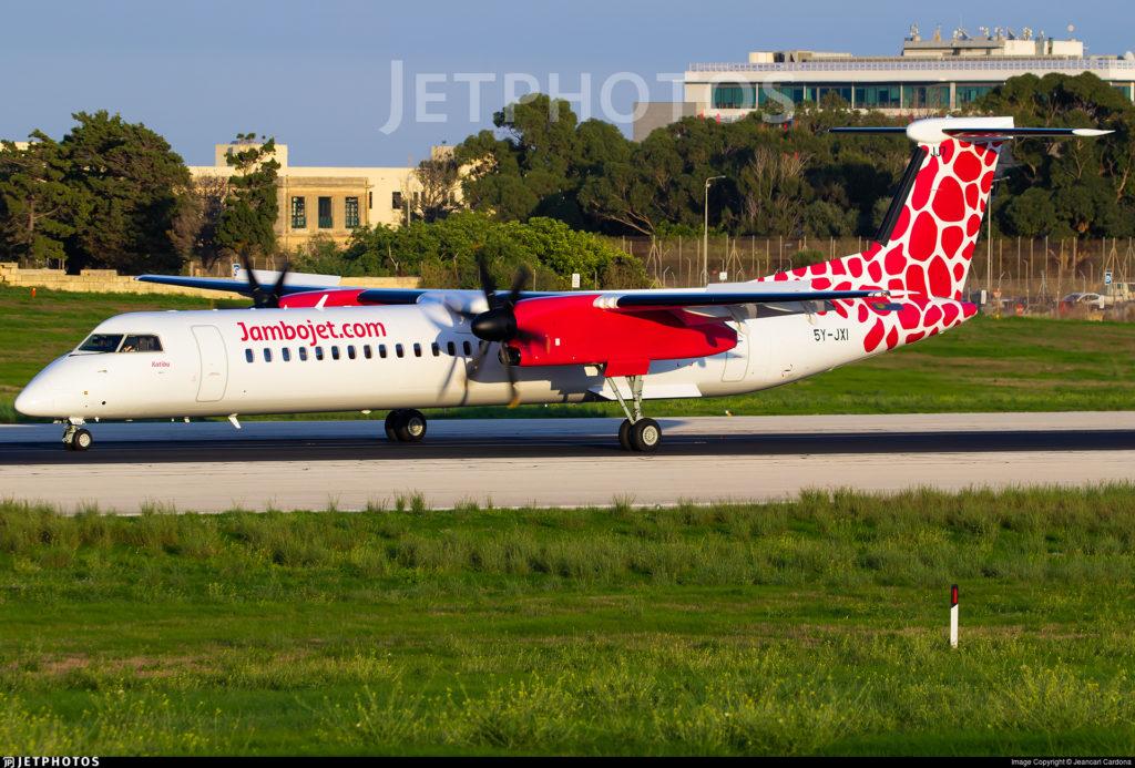 Dubai Airshow 2019 - DHC Dash 8-400