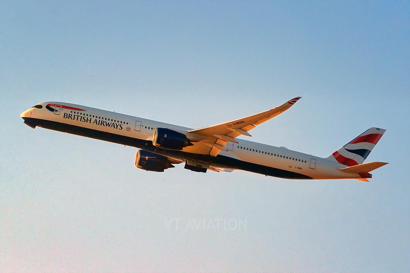 G-XWBB, Airbus A350-1000