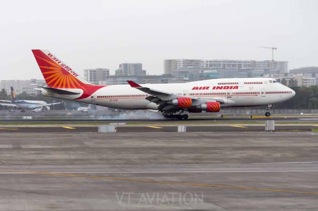 VT-ESP, Boeing 747-400