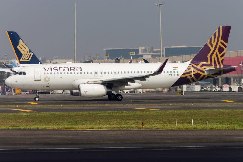 VT-TTM, Airbus A320