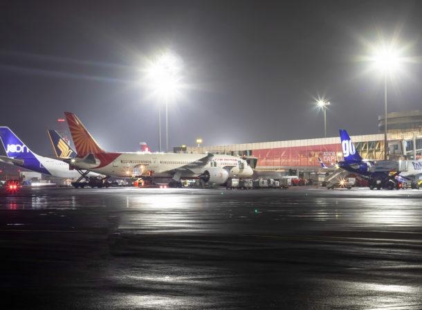 Mumbai Airport Apron