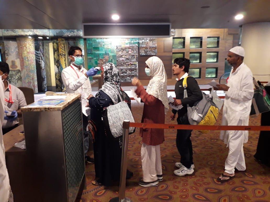 Passenger screening at CSMIA - Coronavirus