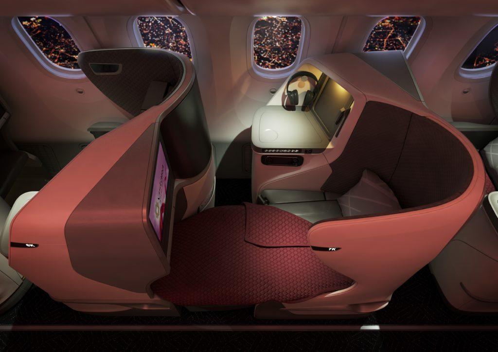 Business Class Flat Bed