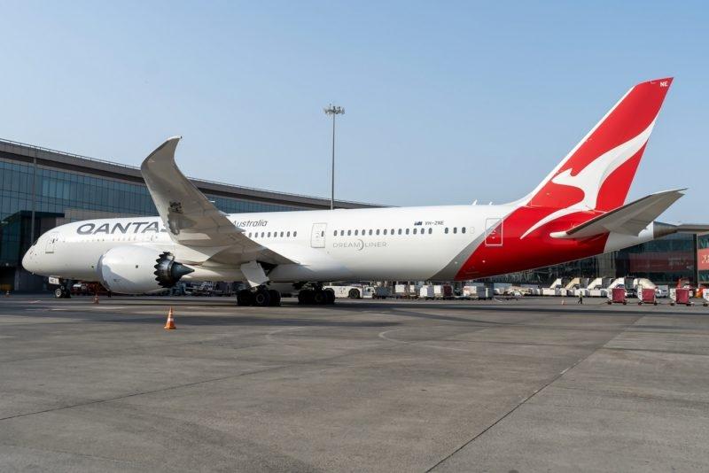 VH-ZNE, Boeing 787-9