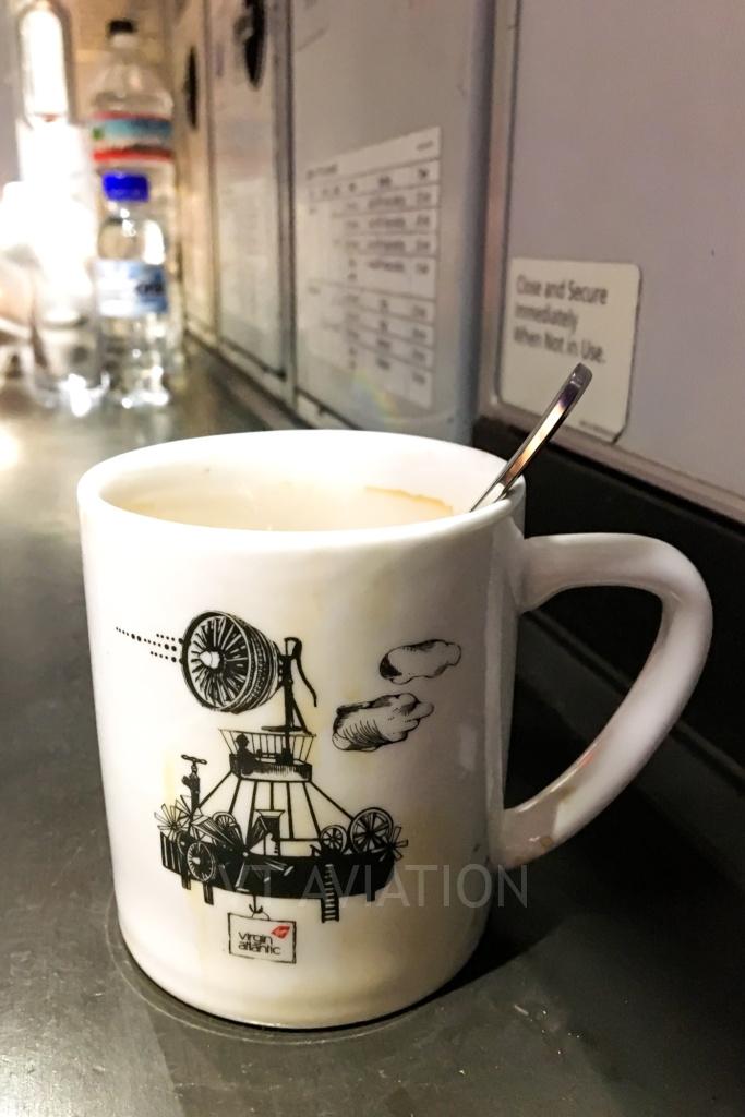 A Hot Coffee On-Board