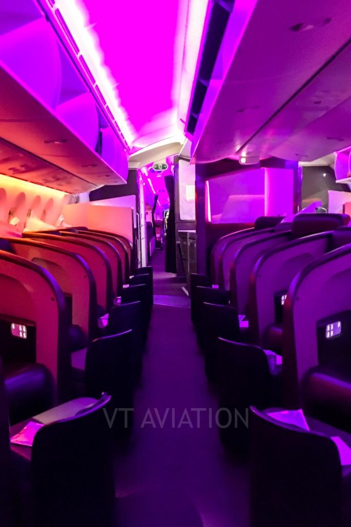 Upper Deck, G-VCRU, Boeing 787-9