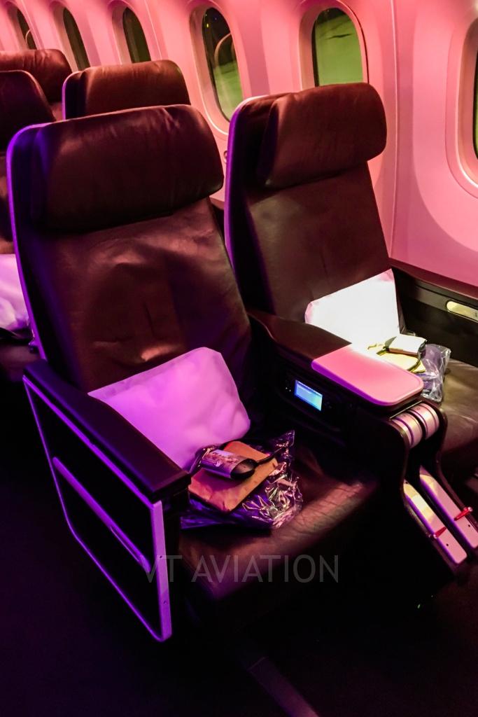 Premium Economy, G-VCRU, Boeing 787-9