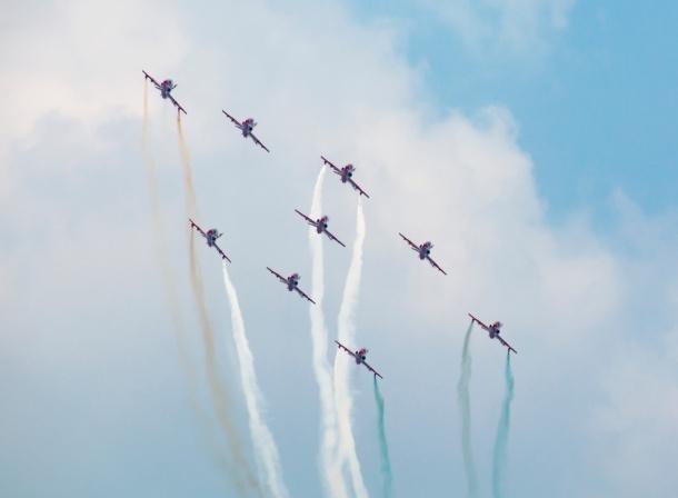 Suryakiran Aerobatic Team
